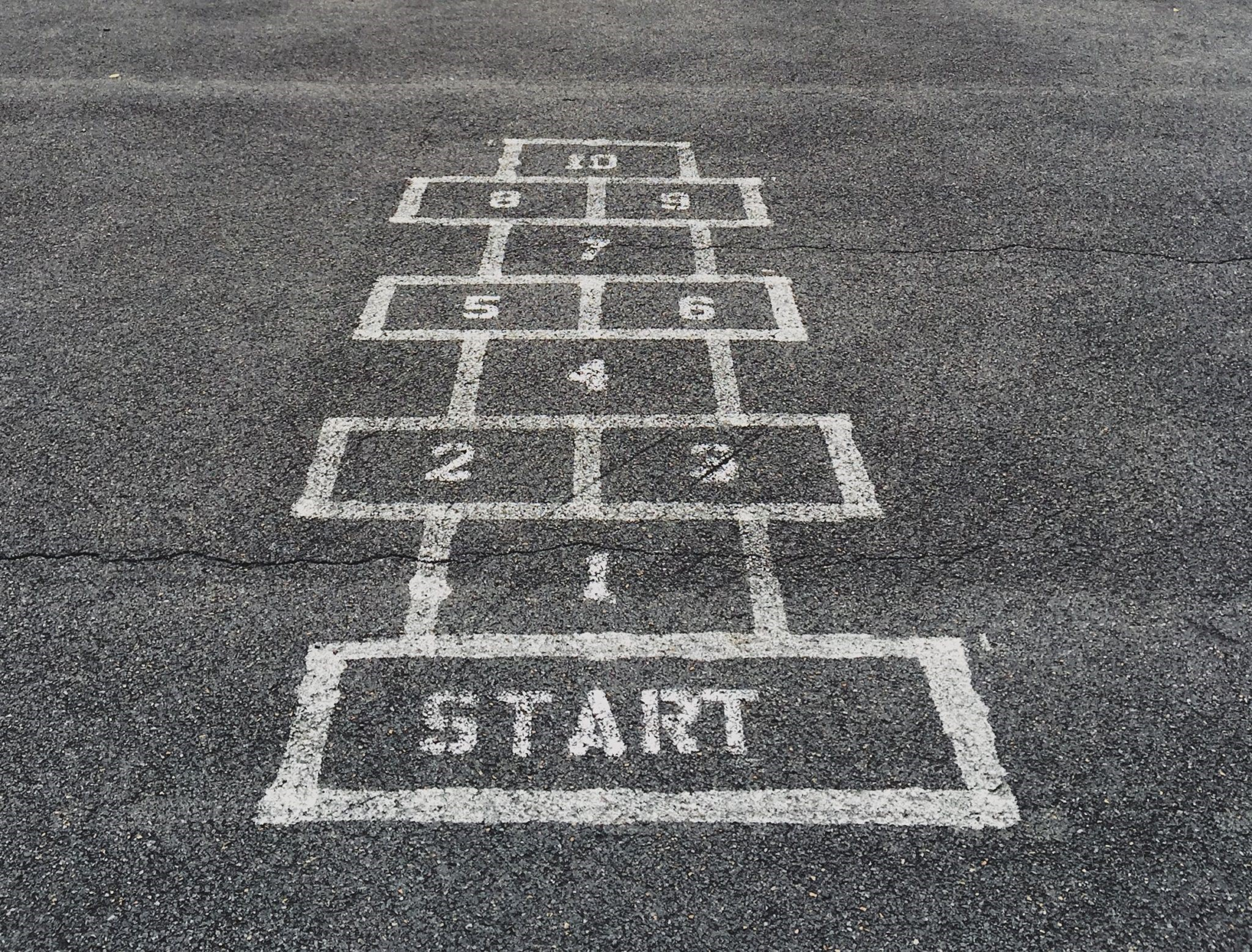 Image Of Game Of Hop Scotch